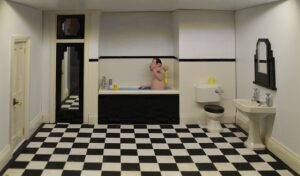 Best Homemade Cleaning Solutions. Clean bathroom basin bath and mirror