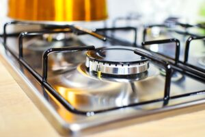 A sparkling clean stove. Home Cleaning Tips Tricks and Routines. look as new.
