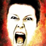 The Secret Language of Relationships. Angry woman shouting