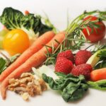 Nutritional Values of Foods List. Fresh vegetables and fruit VIT C