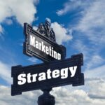 How To Build Customer Relationships, Direction-signal-of-marketing-strategy-street-sign-